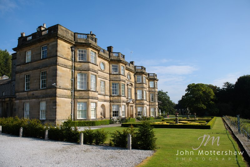 Hassop Hall in the Peak District