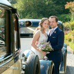 Summer Wedding Photography at Hassop Hall