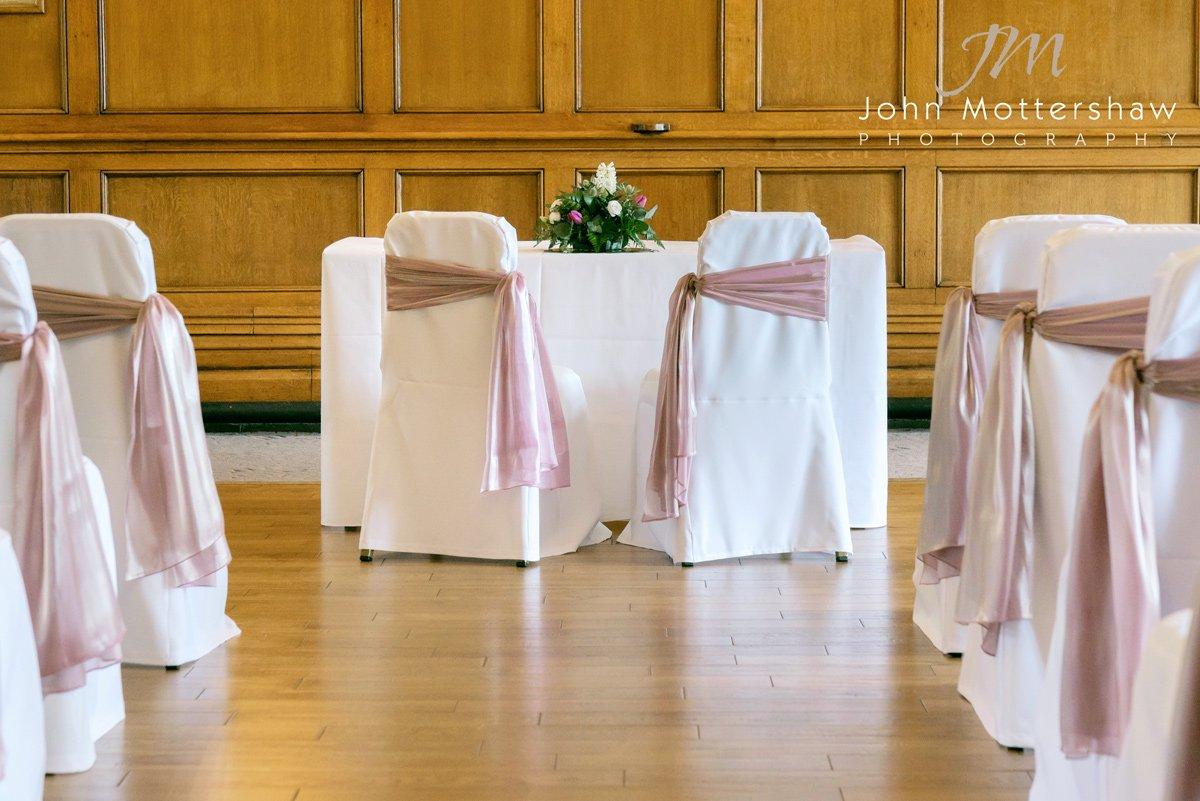 The ballroom at the Maynard in Derbyshire