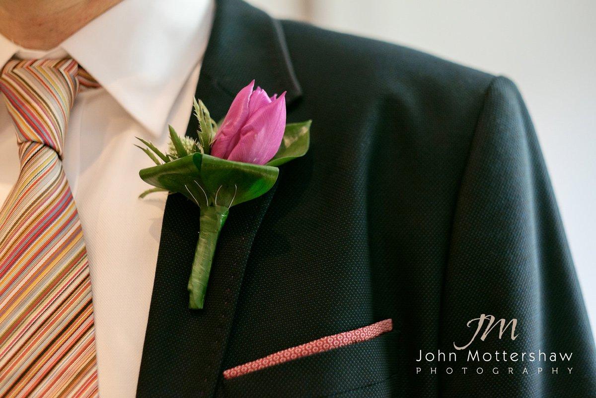Wedding flowers at the Maynard