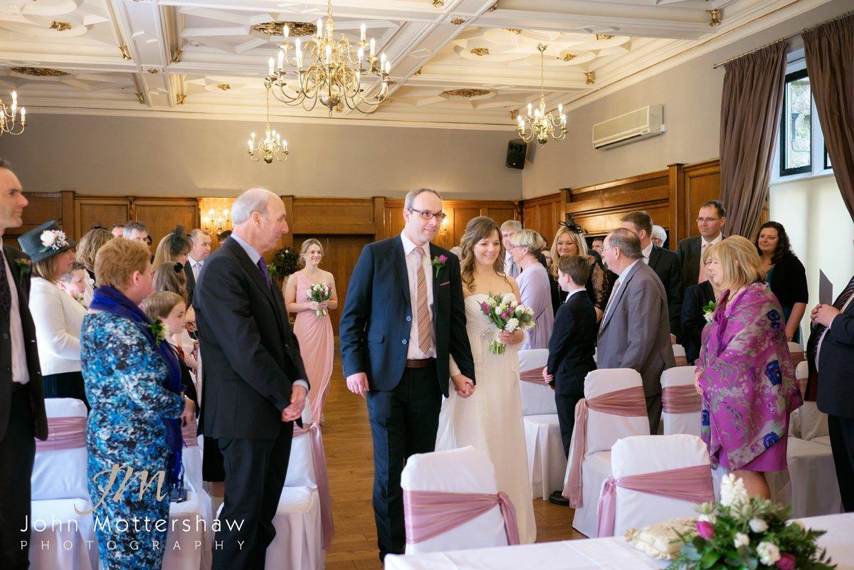 wedding at the Maynard