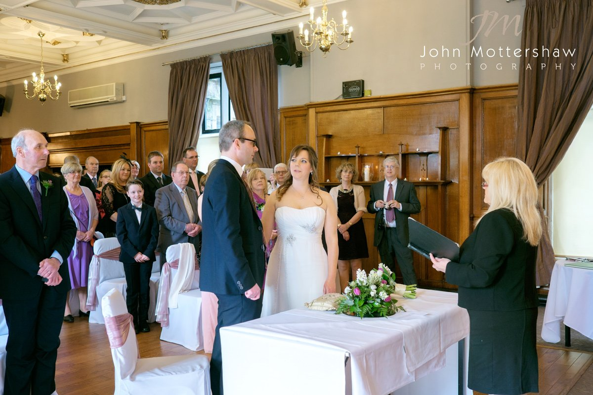 wedding photography at the Maynard near Sheffield
