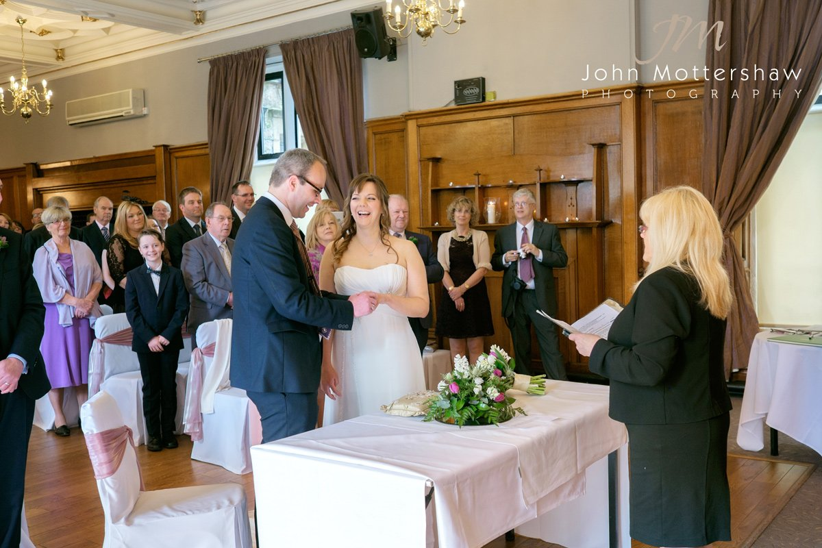 wedding photographers at the Maynard near Sheffield