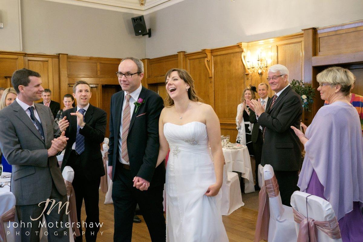 wedding photography at the Maynard near Sheffield