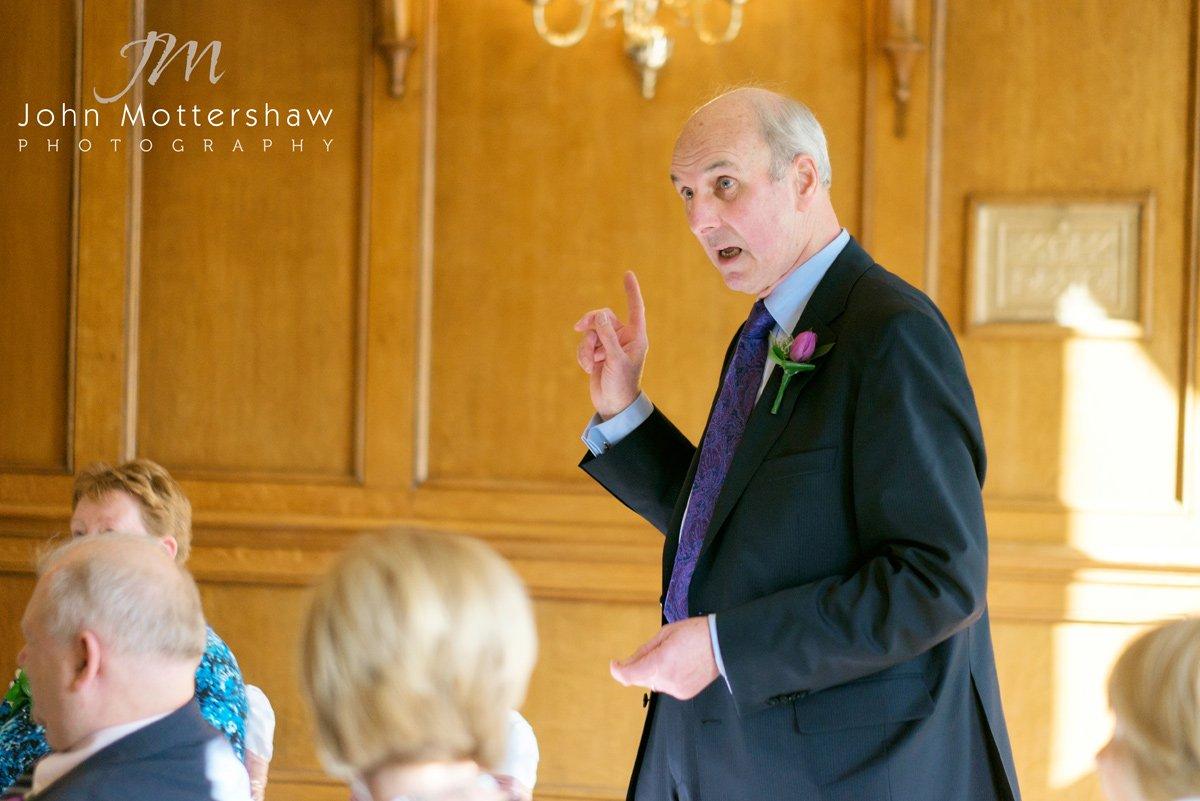 Derbyshire wedding photographer at the Maynard