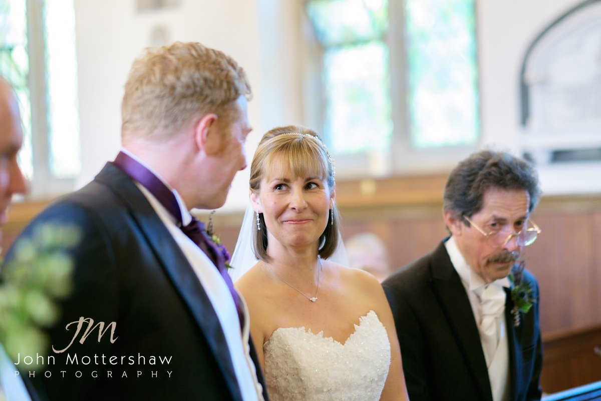 Shrigley Hall - Cheshire church wedding