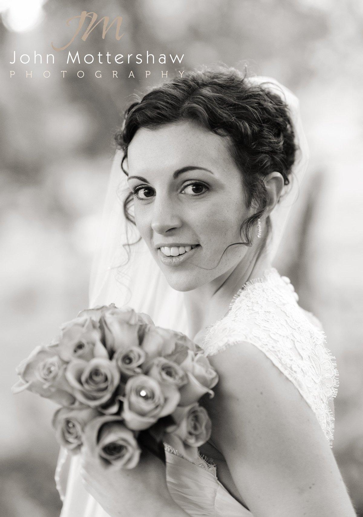 bride at Losehill House Derbyshire