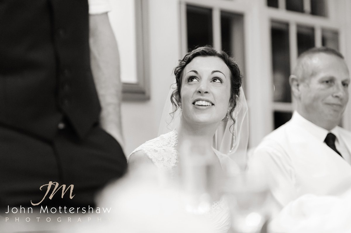 wedding speeches at Losehill House, Derbyshire
