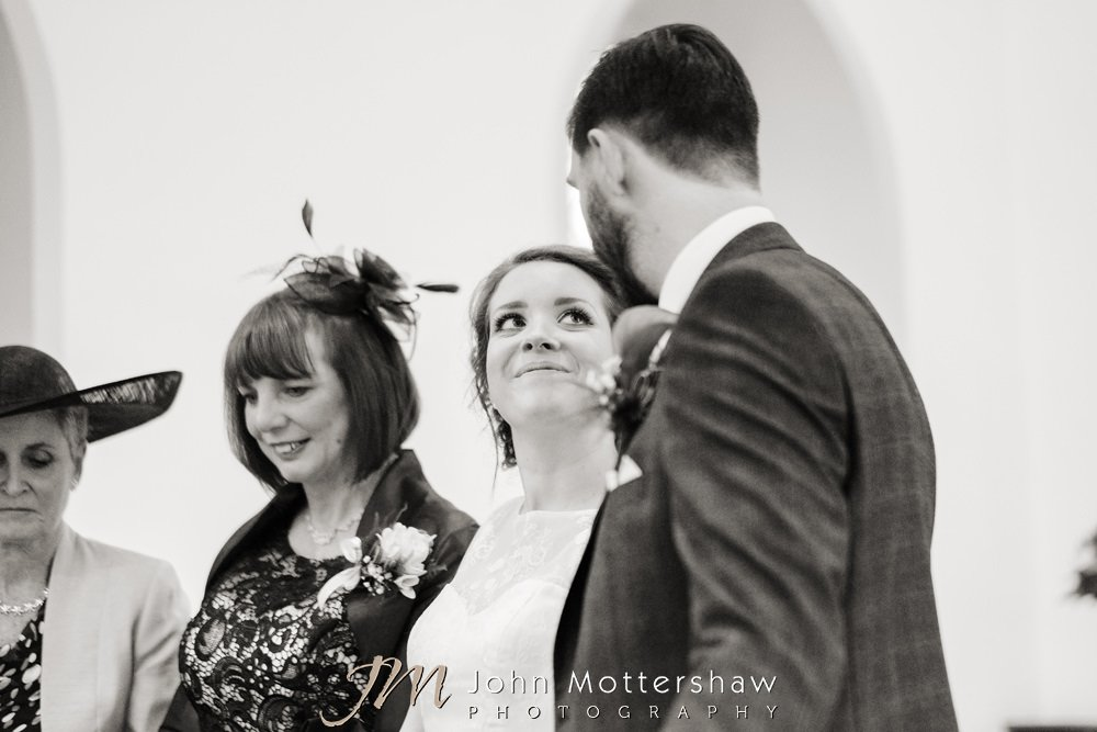 Wedding church service in Sheffield