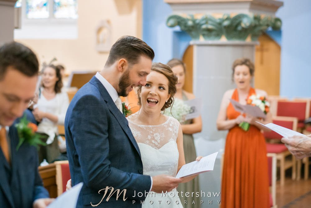 Church wedding in Buxton