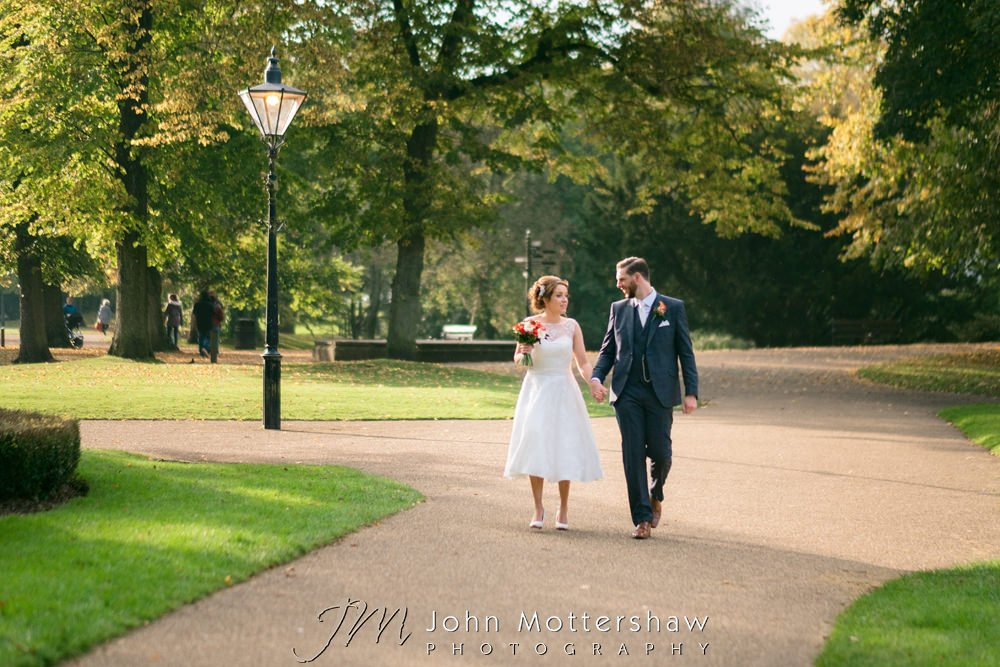 Buxton Old Hall weddings in the Autumn