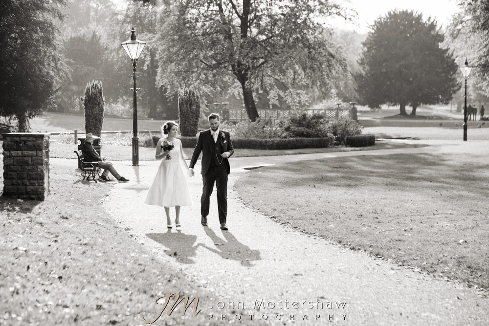 Weddings at Old Hall in Buxton by John Mottershaw