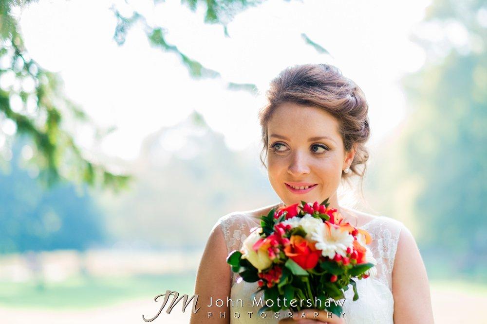 Professional wedding photographer John Motterhsaw
