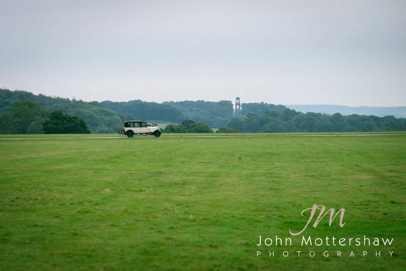 Car approaching Wentworth Woodhouse