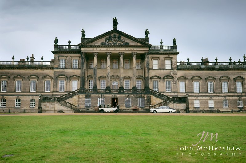 Natural and relaxed wedding photographer Wentworth Woodhouse