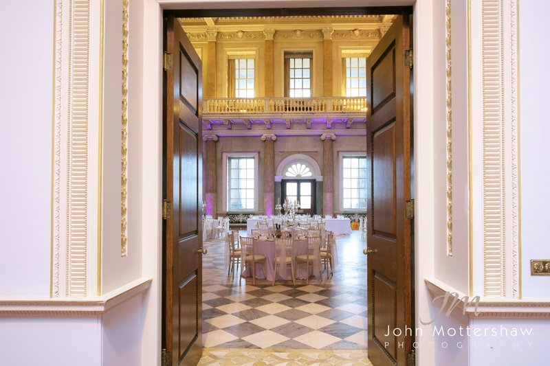 Wentworth Woodhouse wedding reception room