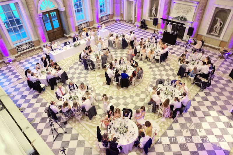 Wentworth Woodhouse wedding reception