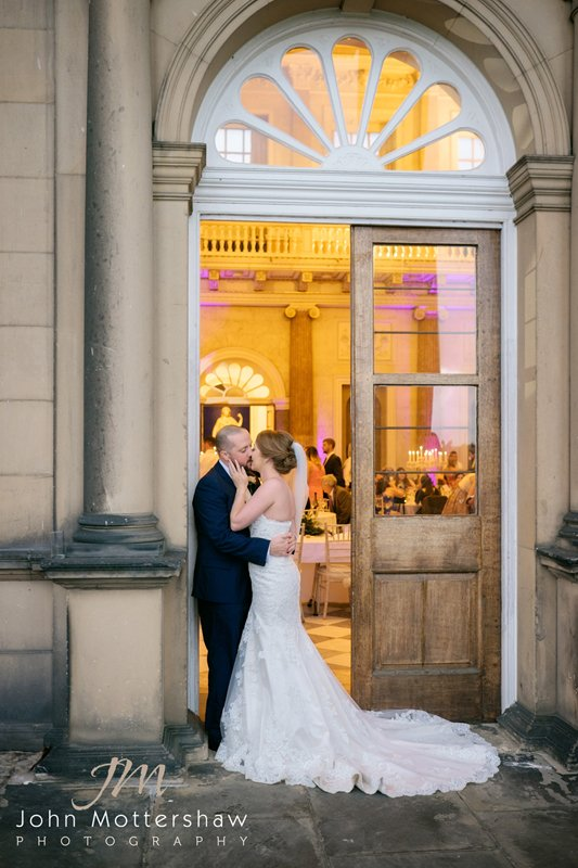 Wentworth Woodhouse wedding photography in a natural style