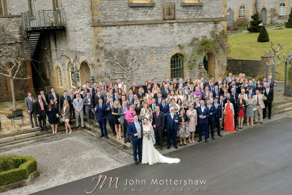 Hassop Hall weddings in The Peak District