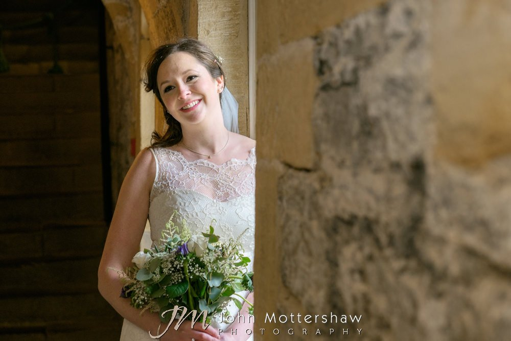Wedding photography at Hassop Hall