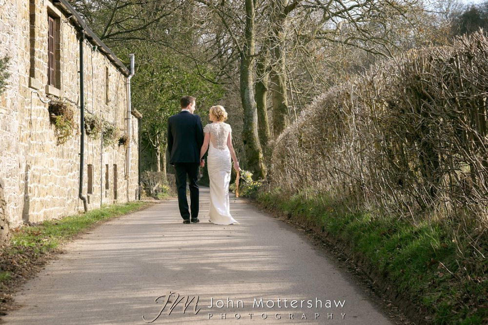 Losehill House wedding photography near Sheffield