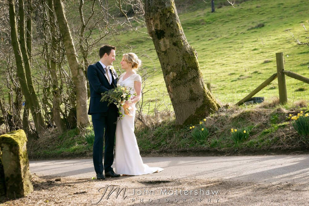 Losehill House wedding photographer in Sheffield