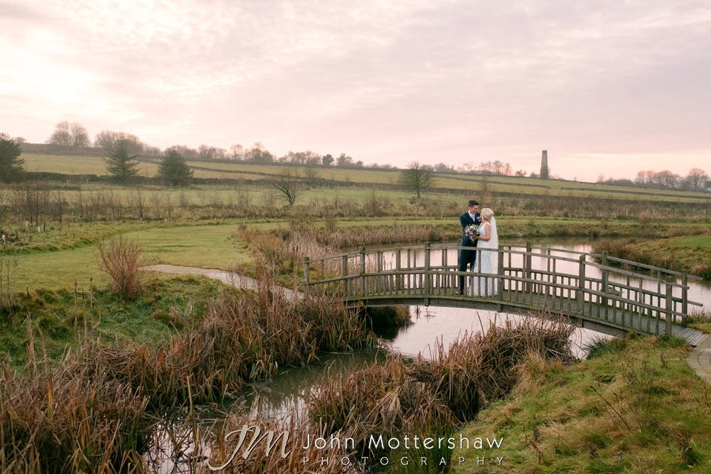 Wedding photography Chesterfield at Peak Edge Hotel