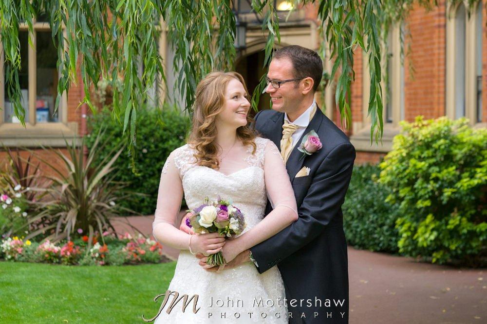 Sheffield University wedding photography