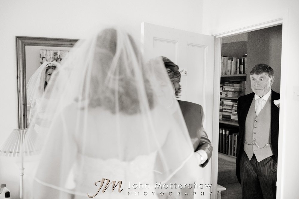 Reportage wedding photographers in Chesterfield