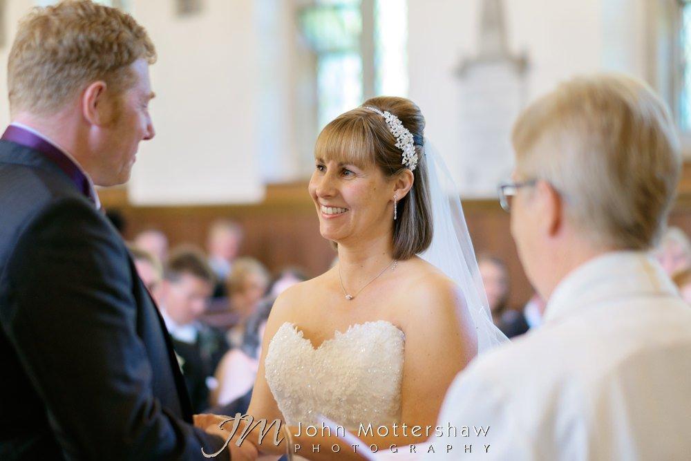 Derbyshire wedding photography near Sheffield
