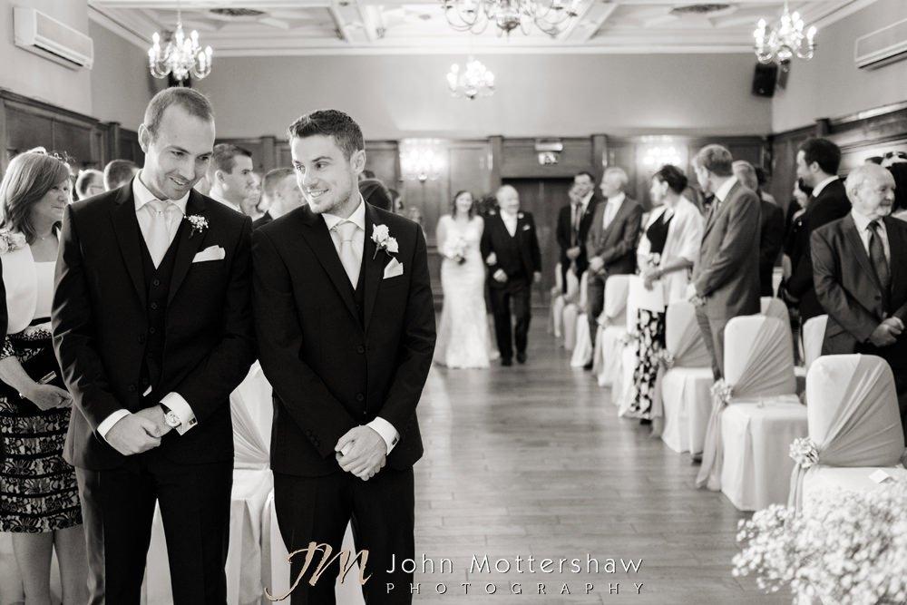 Reportage wedding photographer in Sheffield