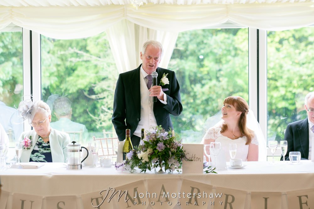 Tissington Hall wedding photography