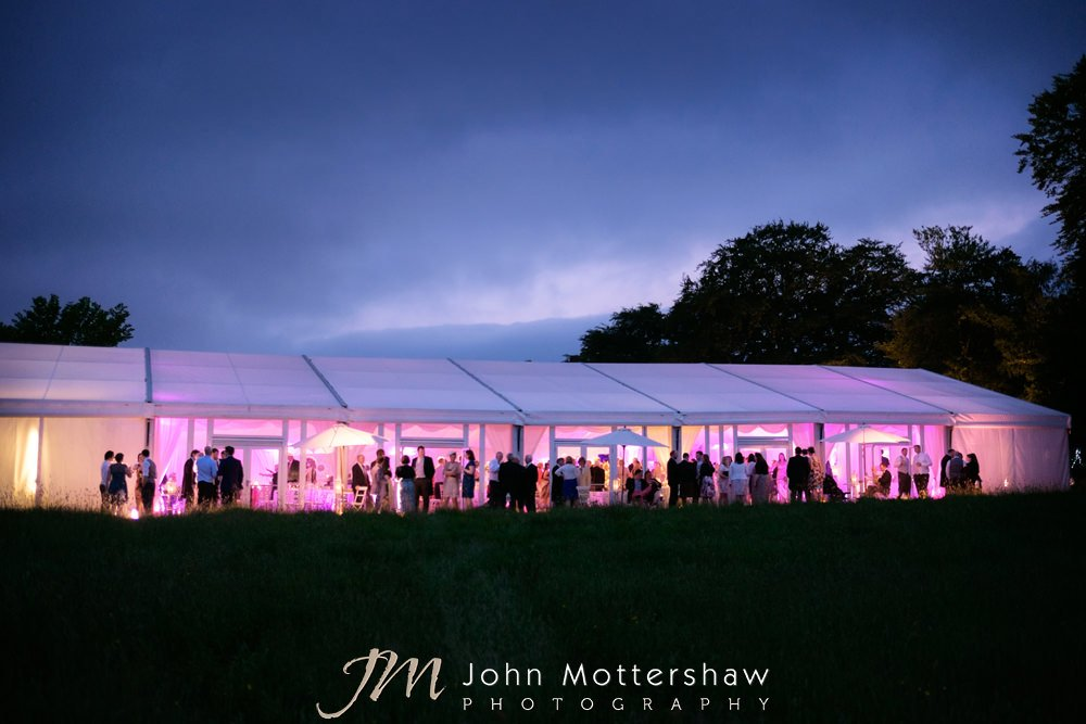 Wedding marquee hire in Sheffield and Chesterfield