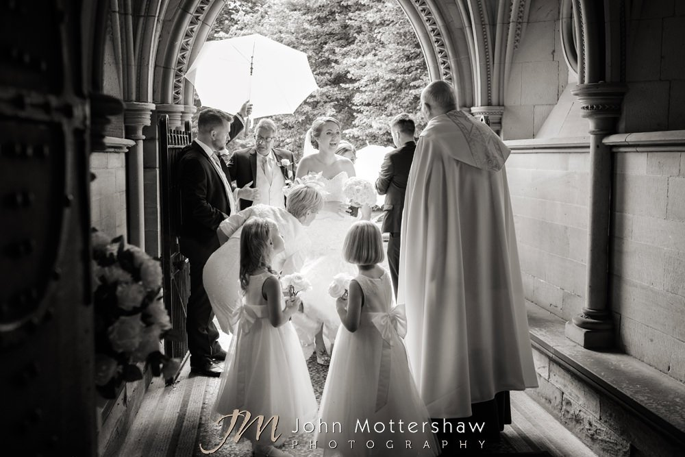 Wedding at Wentworth Church in Sheffield