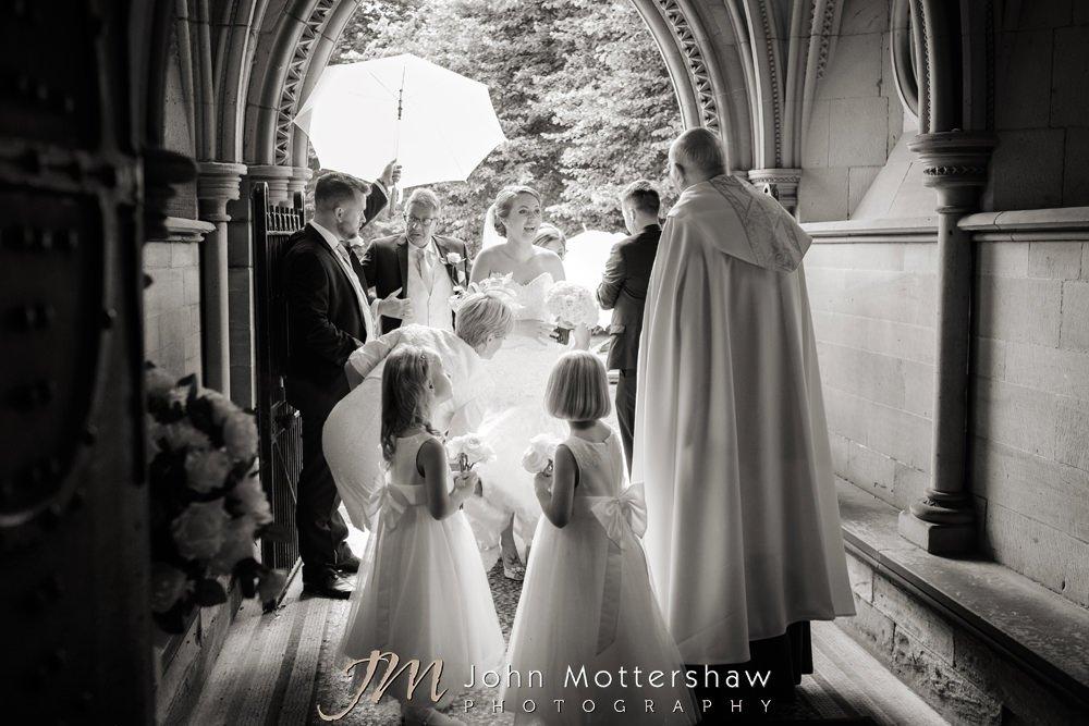 Wedding at Wentworth Church in Sheffield