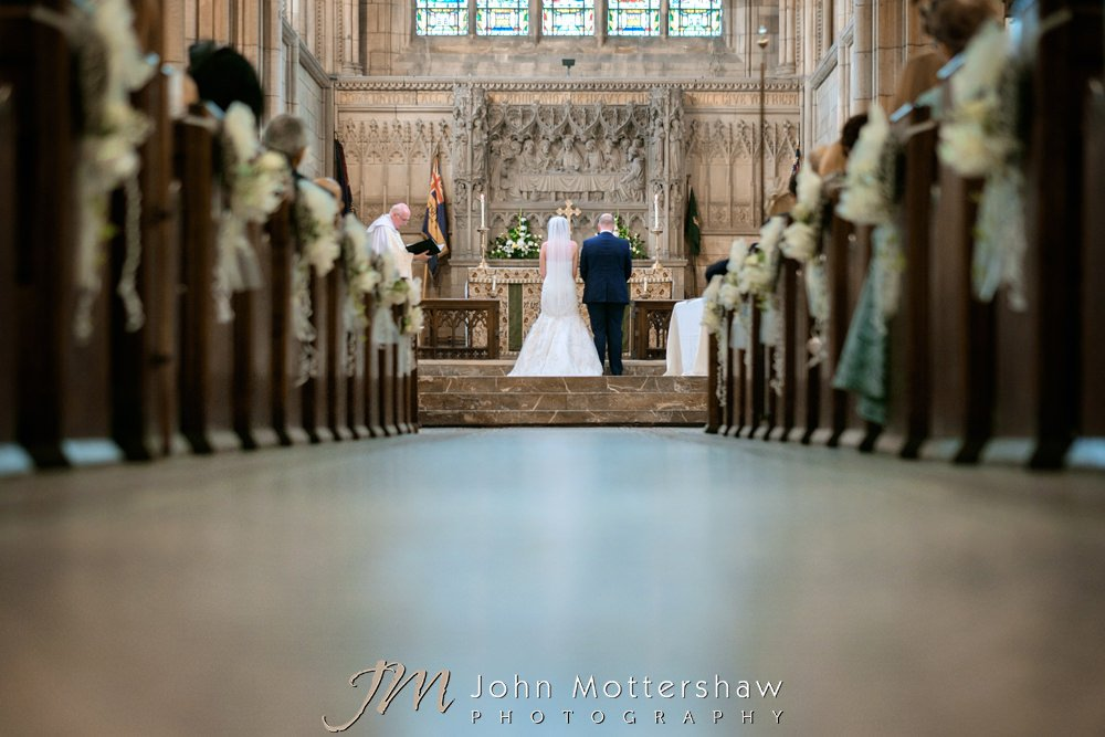 Church weddings in Sheffield and Chesterfield
