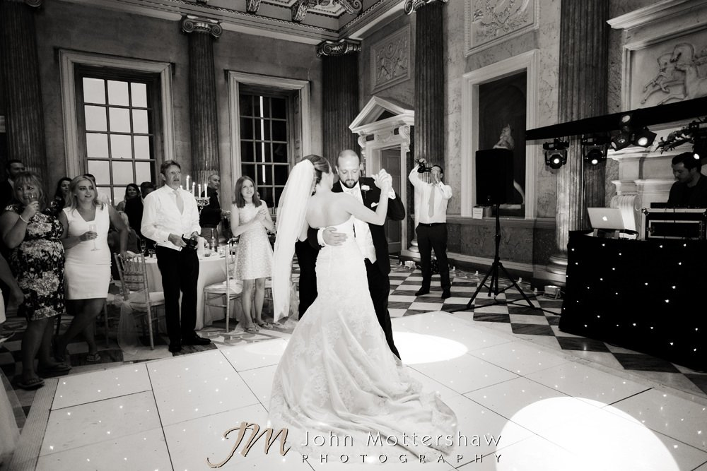 Wentworth Woodhouse wedding first dance