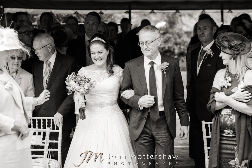 Woodthorpe Hall wedding ceremony