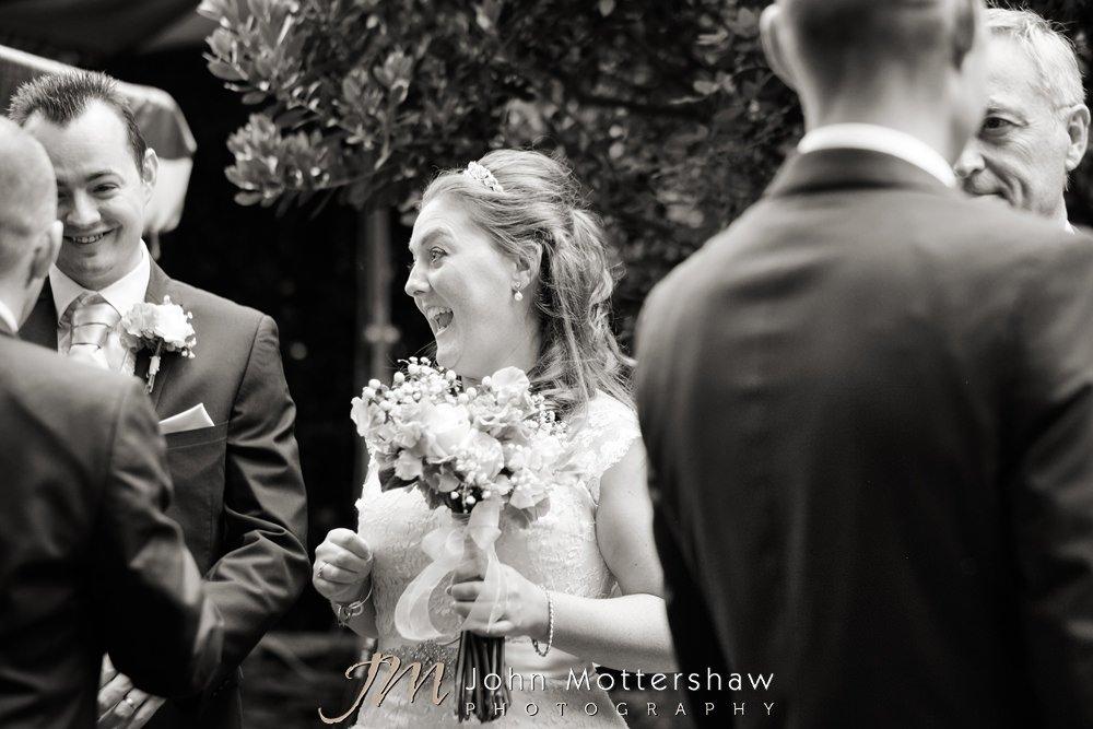 Woodthorpe Hall reportage wedding photography