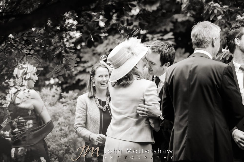 Informal photos at Woodthorpe Hall wedding