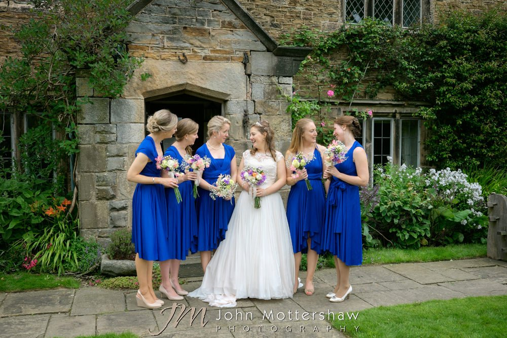 Woodthorpe Hall wedding group photography