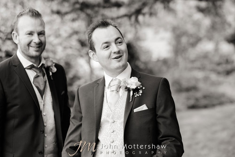Woodthorpe Hall weddings by John Mottershaw Photography