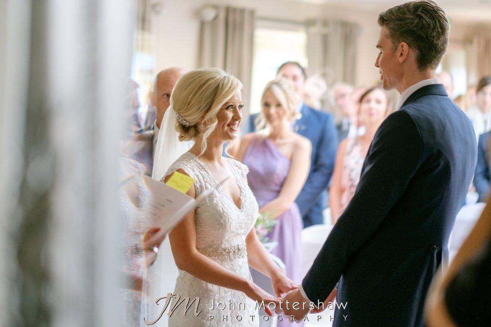 Wedding ceremony at Peak Edge Hotel