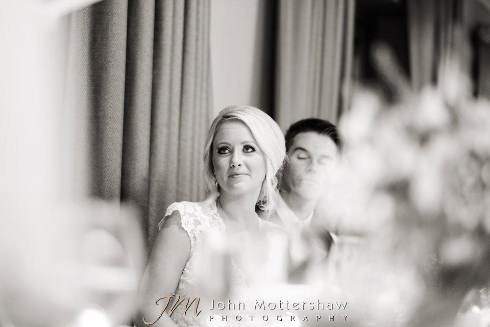 Reportage wedding photo of bride