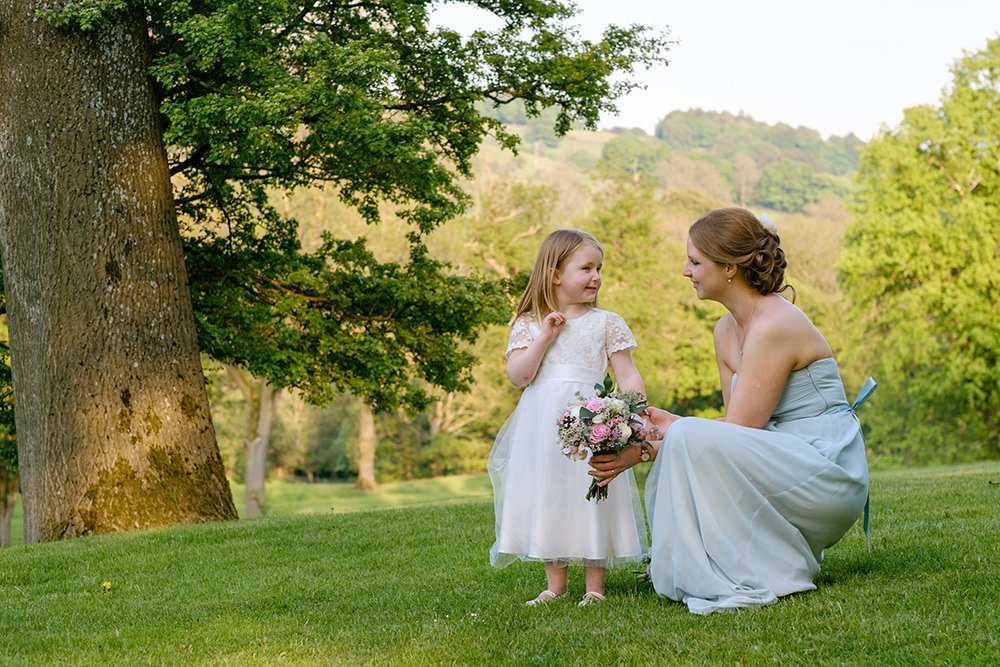 Reportage wedding photography at Losehill House near Sheffield