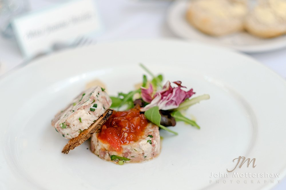 starter course photographed by Sheffield wedding photographer John Mottershaw